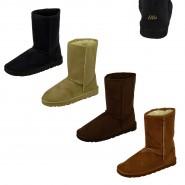 Alex faux suede winter ankle boots