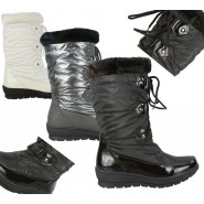 Brie Mid-calf winter pull on snow boot