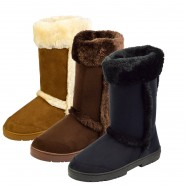 Candice mid-calf faux fur winter snow boot