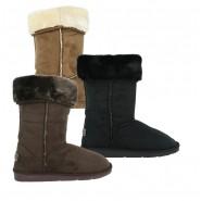 Elvie Mid-calf winter fur snug snow boot