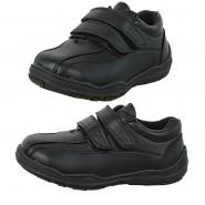 Blake boys flat velcro strap school shoe
