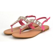 Sadie sling back toe post sandal