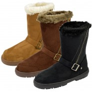 Libby faux fur snow boot