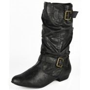 Karol Mid-calf flat casual boot