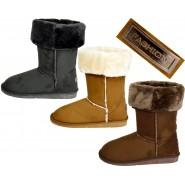 Kelli Classic mid calf fur lined snug boot