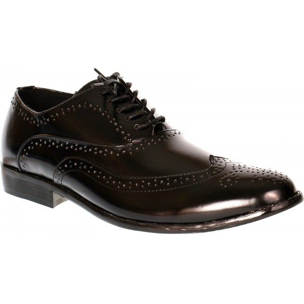 db2ec6d575573c Savoy mens formal lace up brogue shoe - shuboo