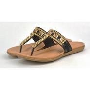 Gerri Flat Toe Post Gladiator Flip Flop Sandal