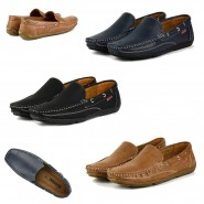 Bruno casual formal slip on boat shoe