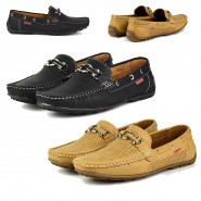 Ricky casual slip on buckle shoe