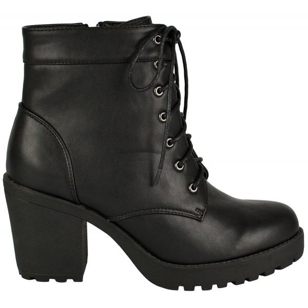Mina mid heeled lace up ankle boot - shuboo 6bf54913e356