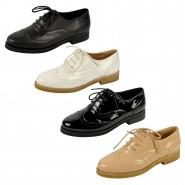 Jacky lace up casual brogue shoe