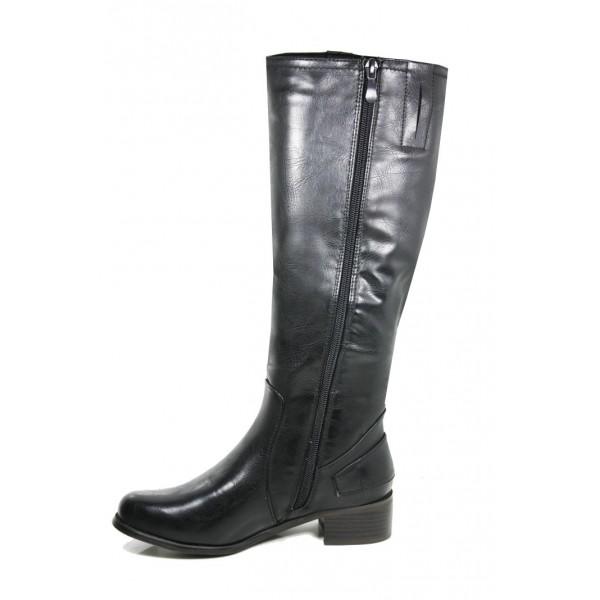66254339f32 Womens Low Heel Knee length Bike Riding Boots