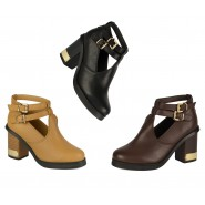 Selma cut out Chelsea ankle boot