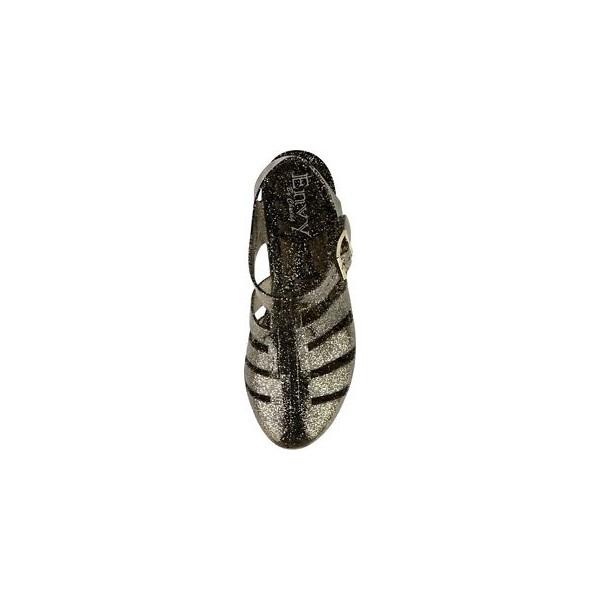 14322b779cbb1e ... womens wedge jelly sandals ladies retro summer beach sandals flip flops  size 3-8 ...