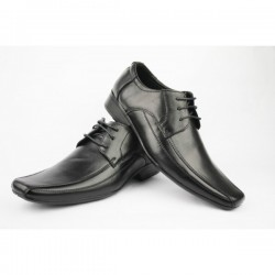 Mens Black Real Leather shoes Formal
