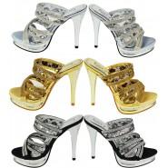 Edna diamante party sandals heels